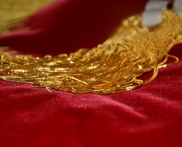 Canottiglia oro riccio